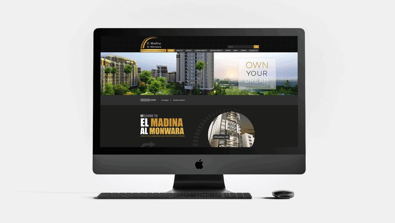 Alex Web Design and development company clients in Egypt El-madina Company