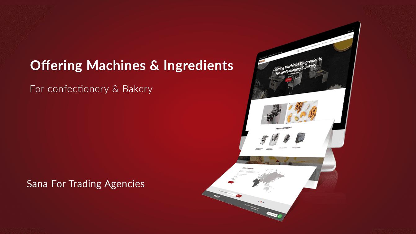 Alex Web Design and development company clients in Egypt Sana Company