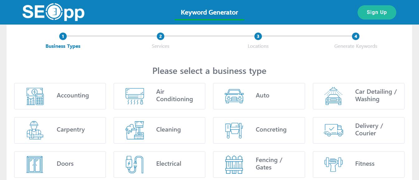 SEOpp keyword tool