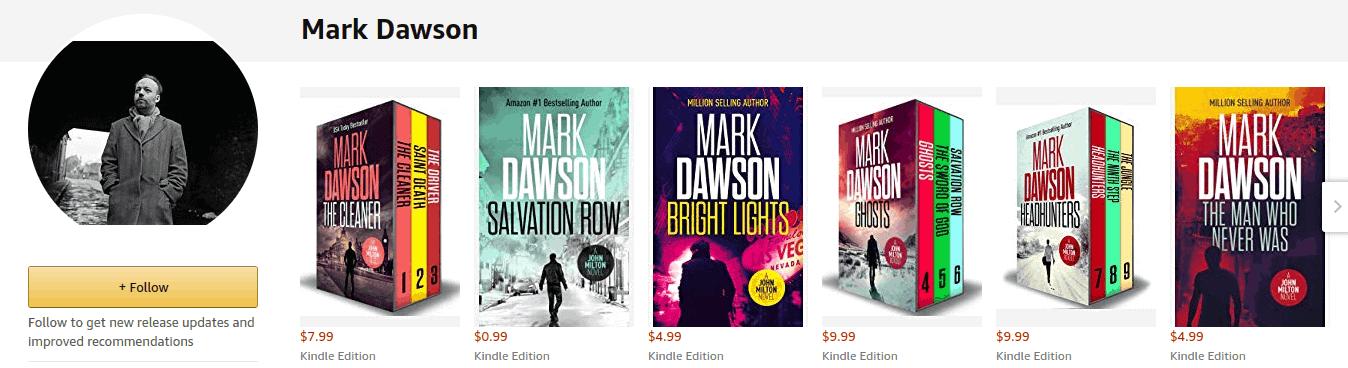 Mark Dawson Books - Ways How to Make Money Online
