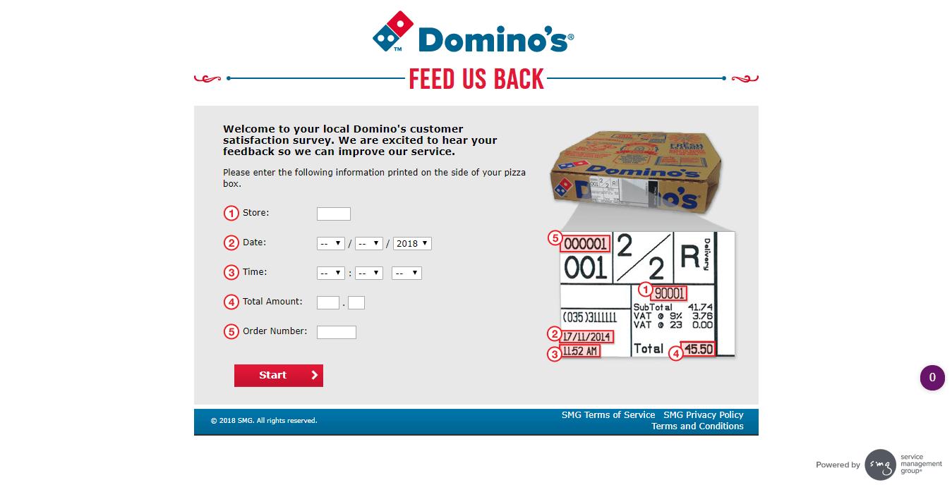 Domino s Customer Satisfaction Survey