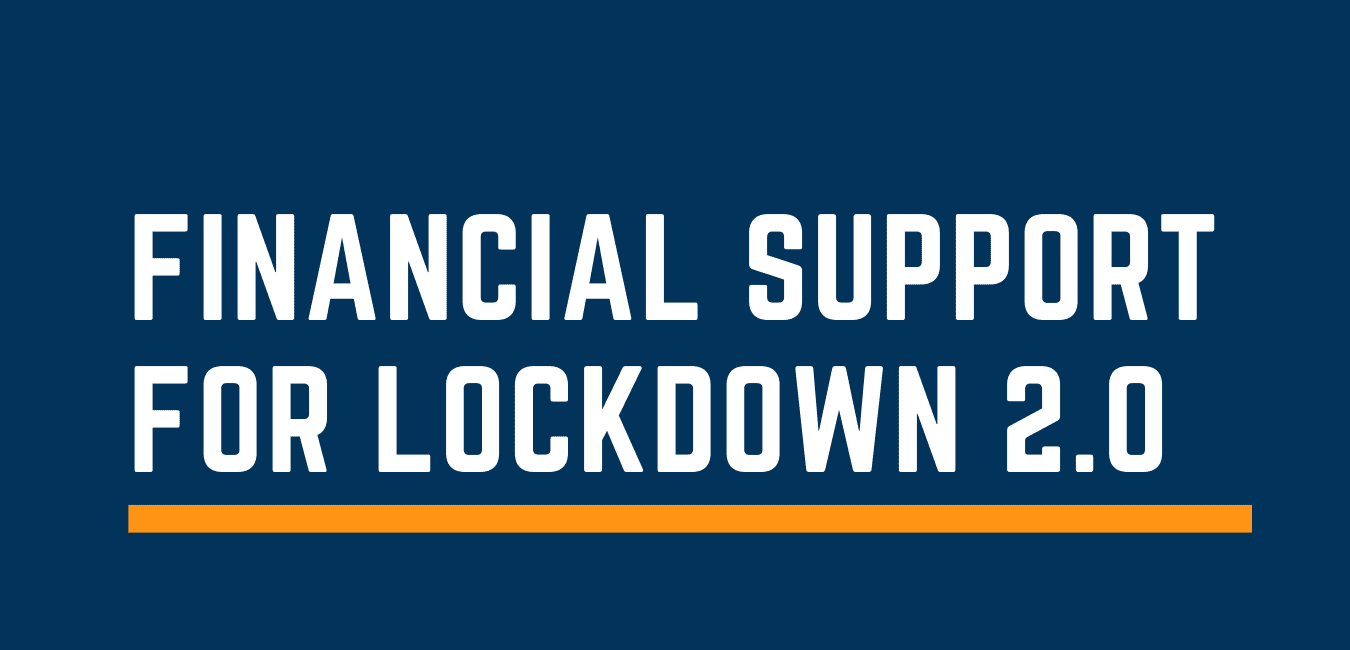 Financial support for Lockdown 2.0