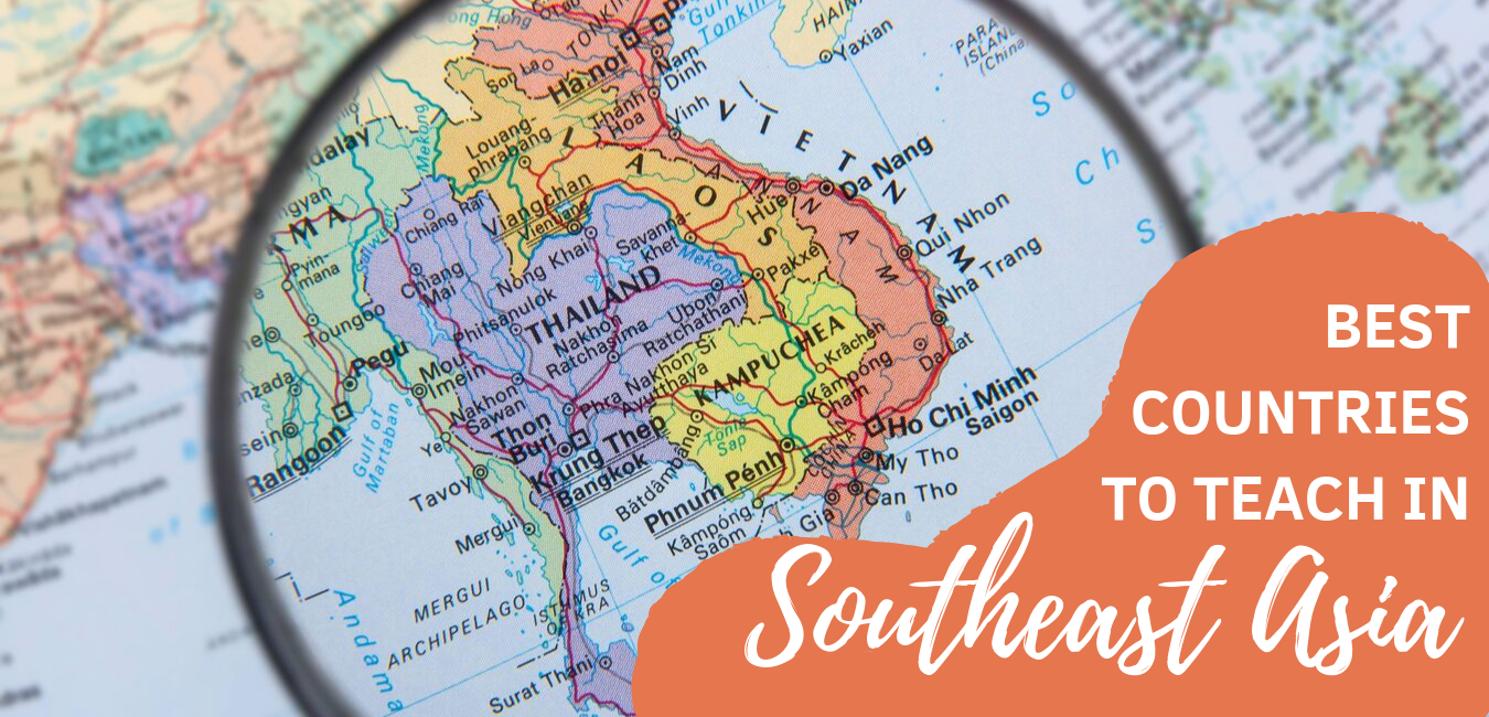 Best Countries in Southeast Asia to teach English