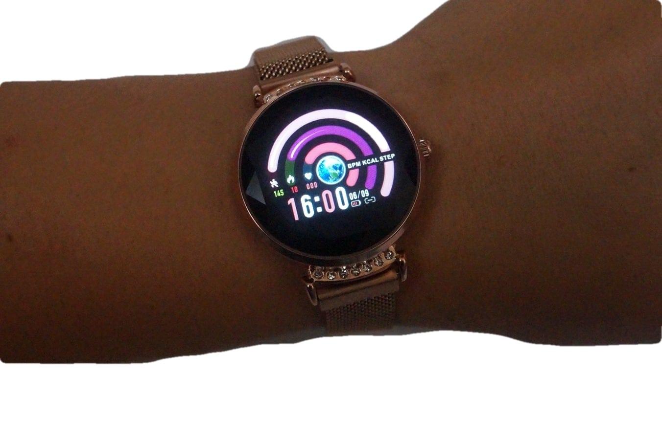 smartwatch damski h2
