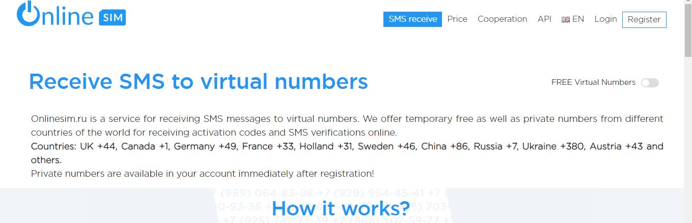 رقم روسي وهمي مجانا للتفعيل