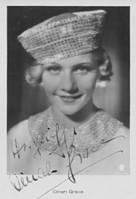 Dinah Grace, Autogrammkarte 1934