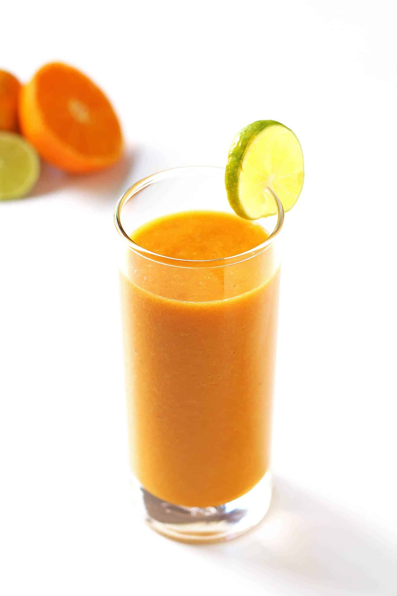 Glass of Carrot Citrus Smoothie