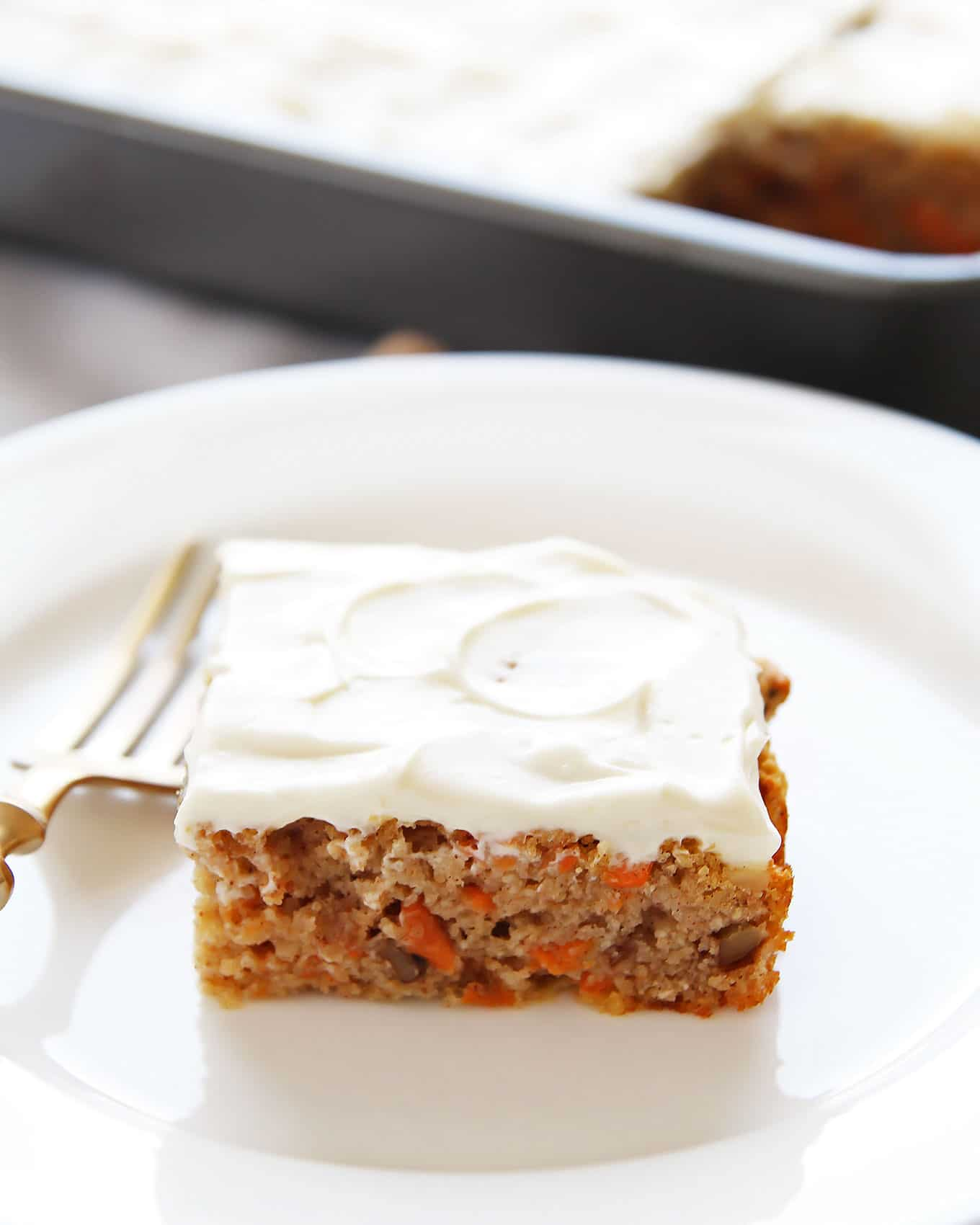 Paleo Carrot Cake with Frosting