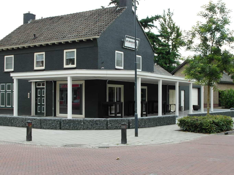 Terrasoverkapping Veranda Cafe De Bedoeling Gemert