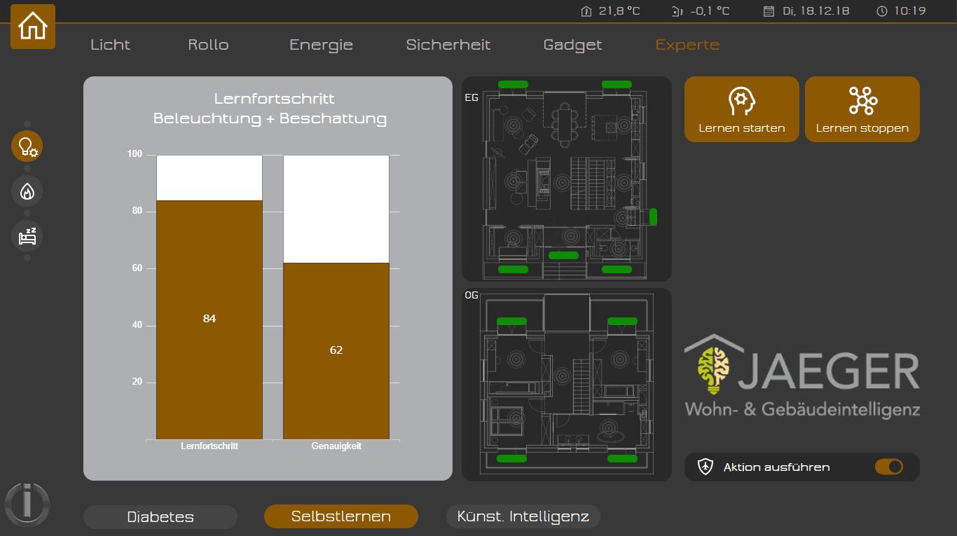 Smarthome Visualisierung ioBroker künstliche Intelligenz
