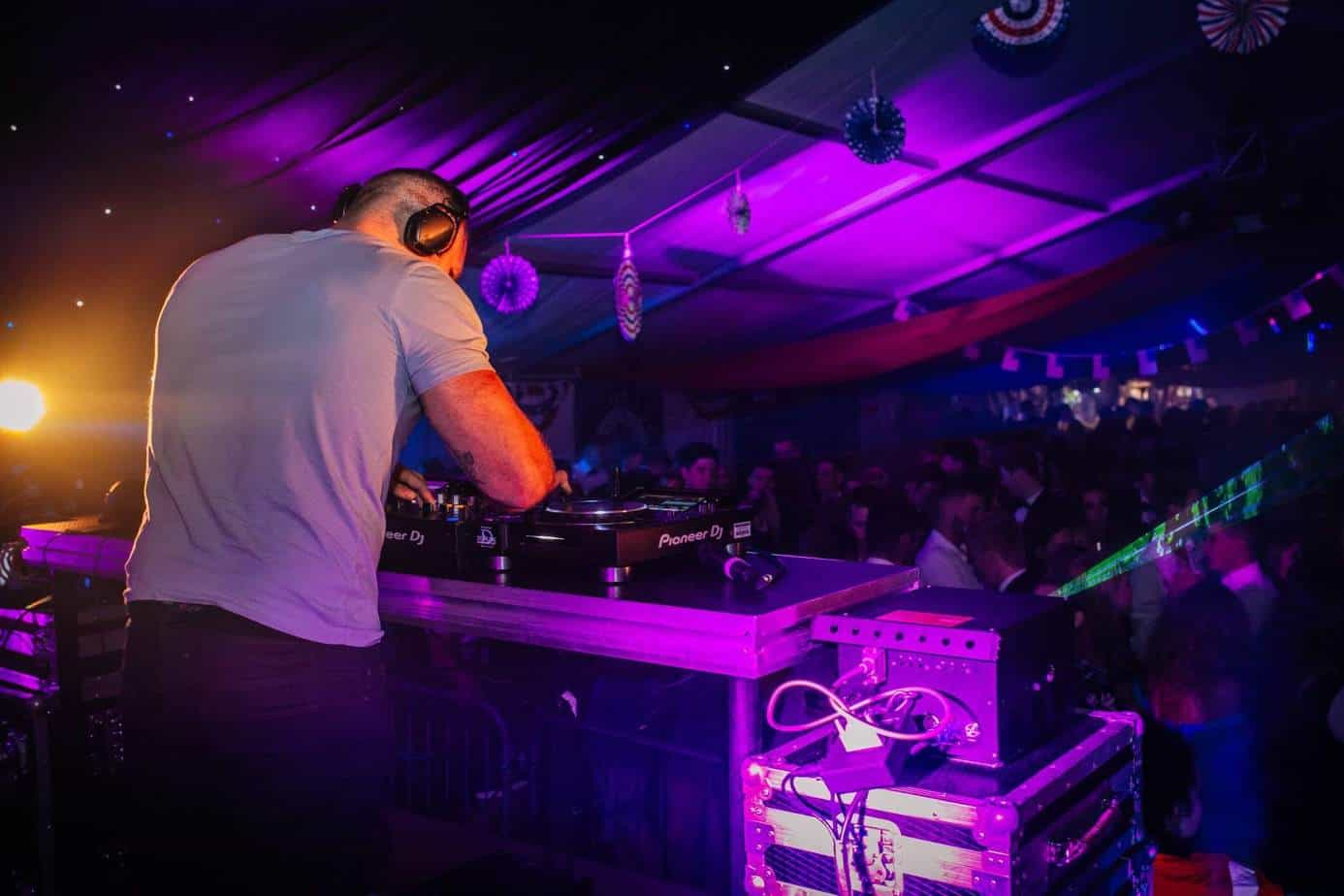 DJ James Haskell - live performance - Storm DJs