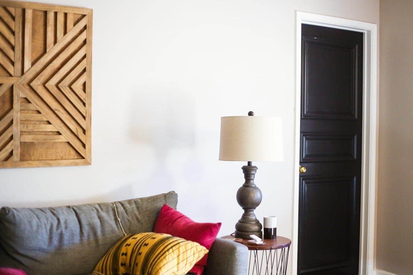 How to make a beautiful DIY paneled door