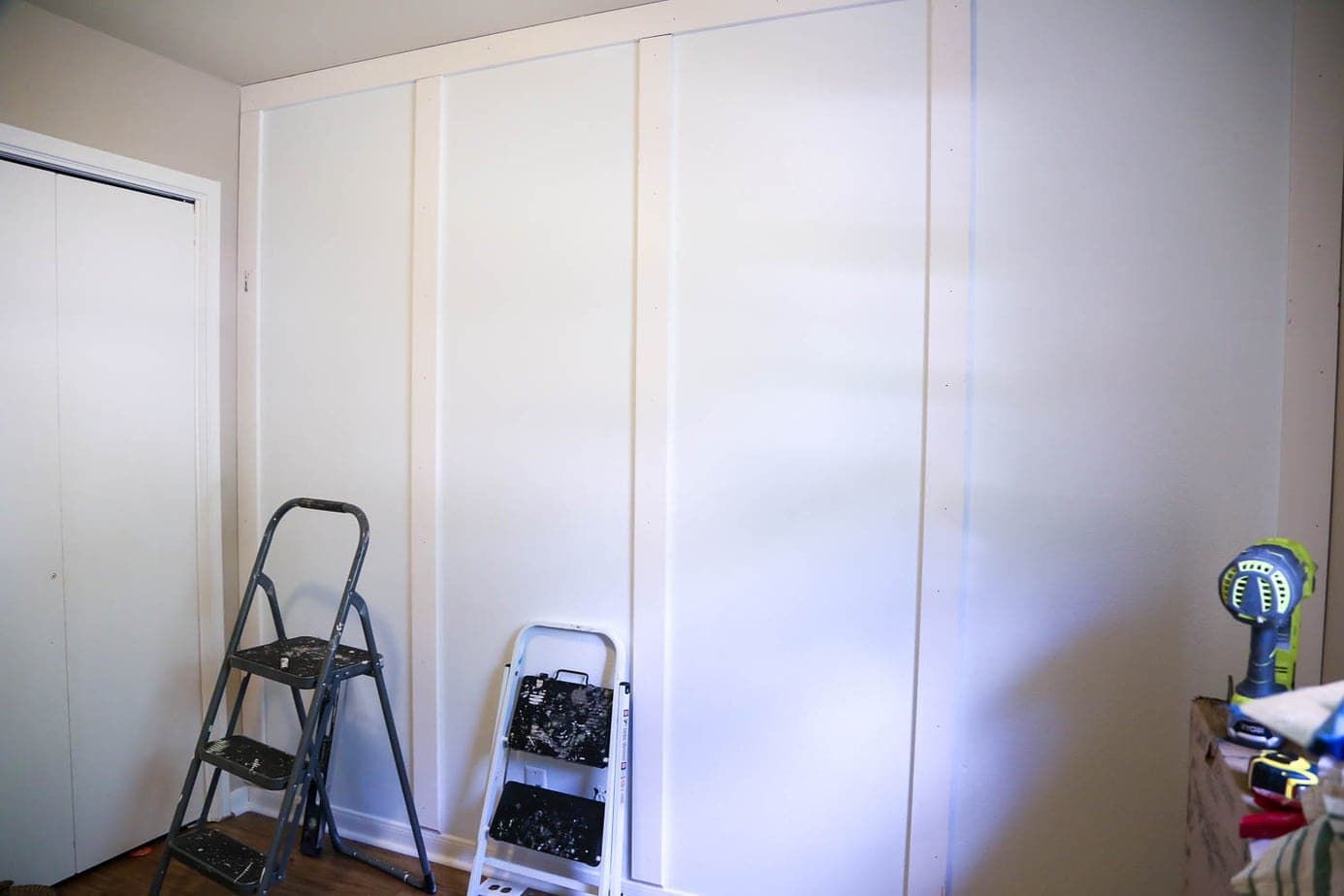 how to install a board and batten wall