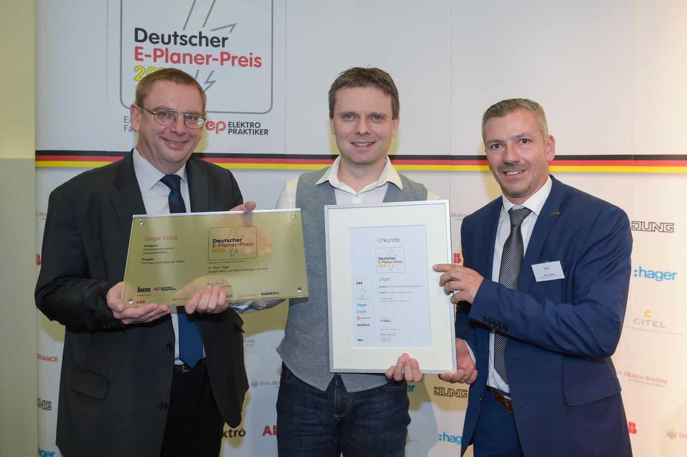 Sieger E-Planer-Preis 2018