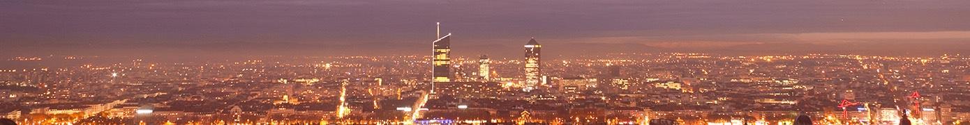 Timelapse Lyon la nuit
