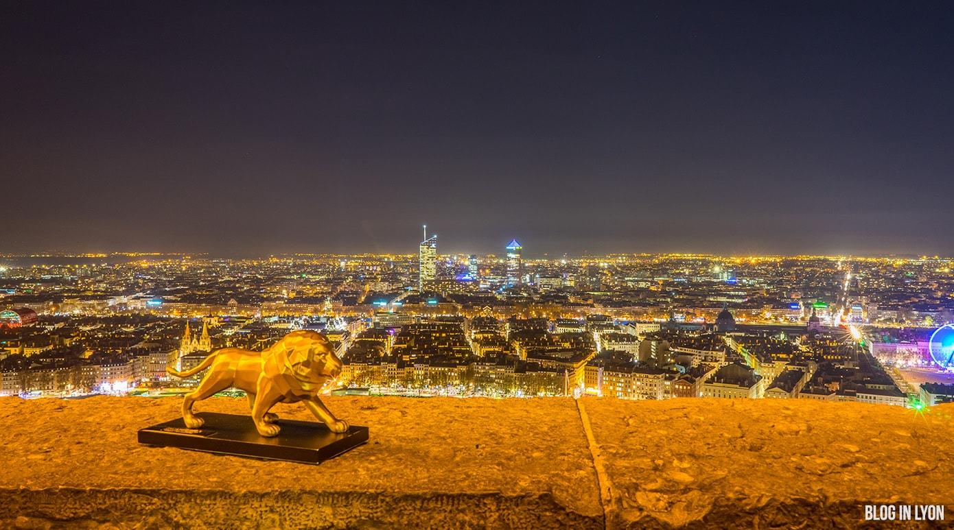 Ville de Lyon - fond écran