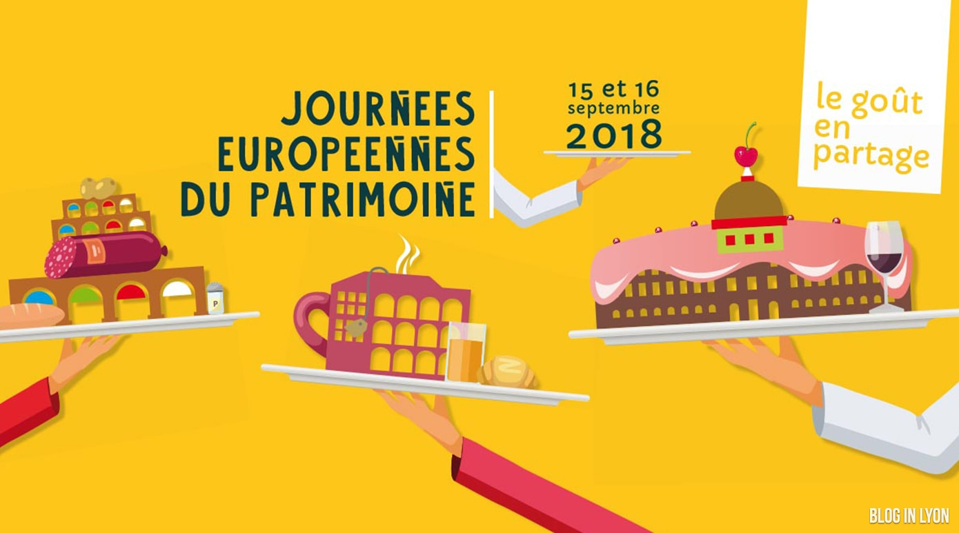 Journée du Patrimoine 2018 - Blog In Lyon