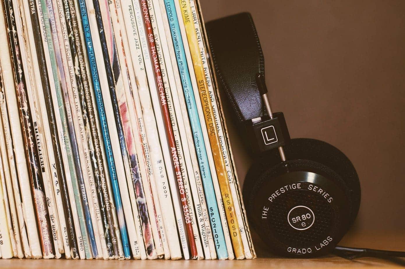 A Vinyl Collection with the Grado SR80e