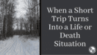 Are You Prepared for An Unexpected Survival Situation?