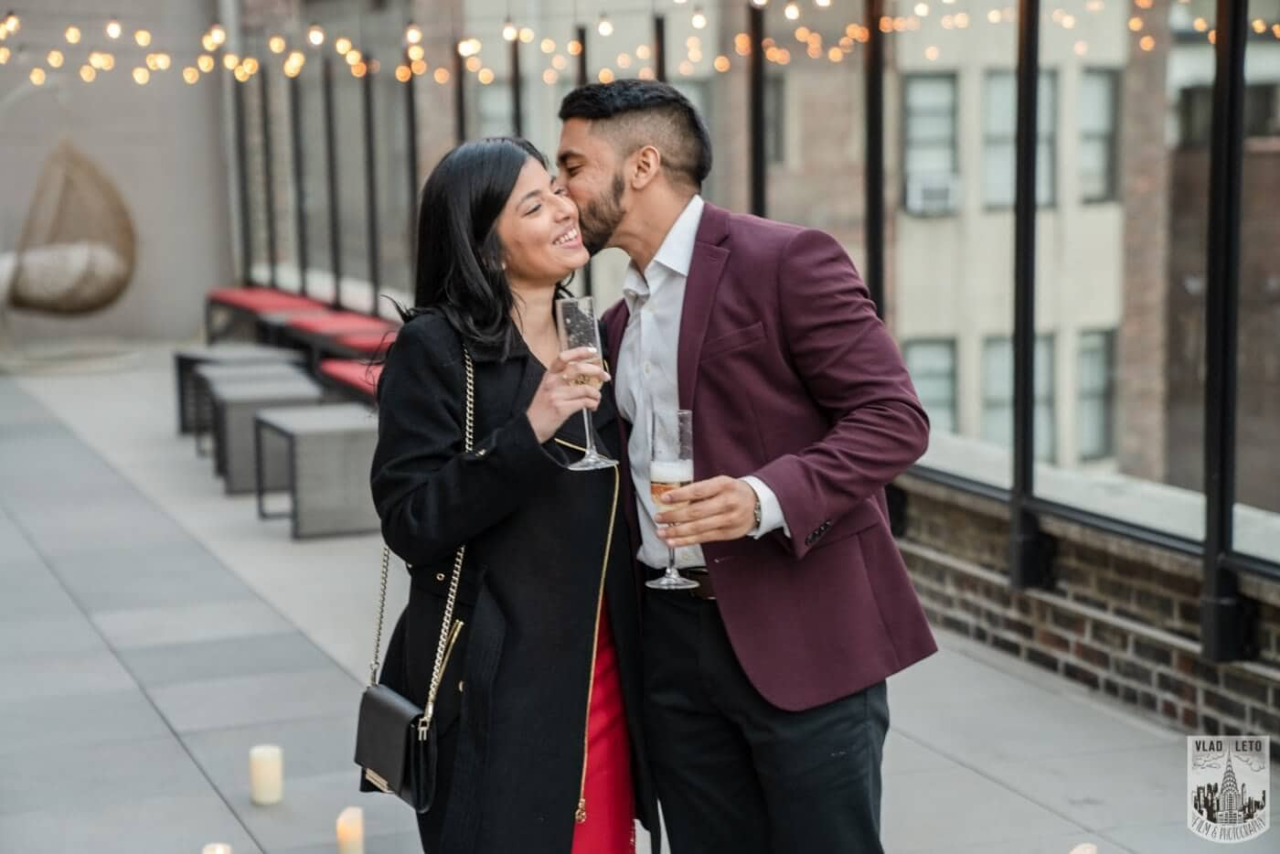 Photo 7 NYC Rooftop Proposal | VladLeto