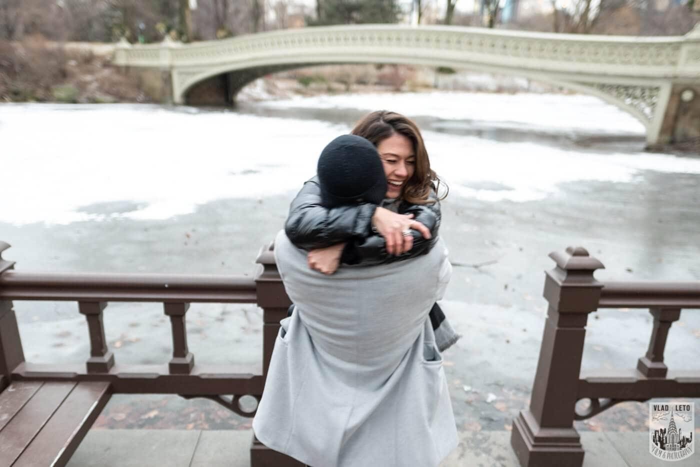 Photo 5 Bow bridge surprise marriage proposal. | VladLeto