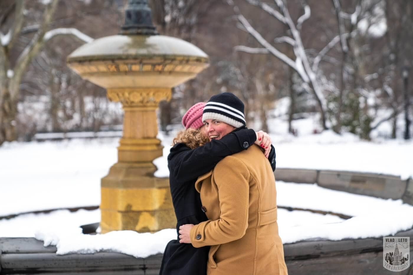Photo 5 Same sex couple proposal at Cherry Hill in Central Park | VladLeto