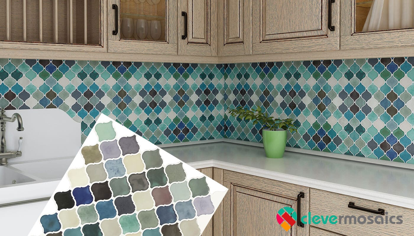 peel and stick vinyl wall tile