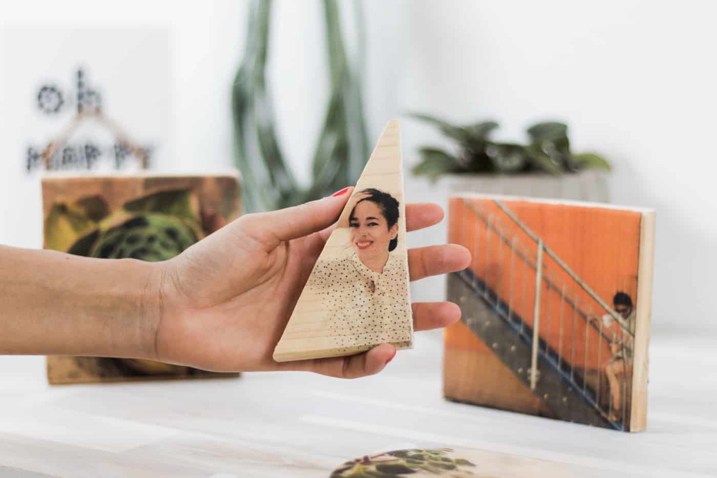 Fotopotch Foto Transfer auf Holz Papier