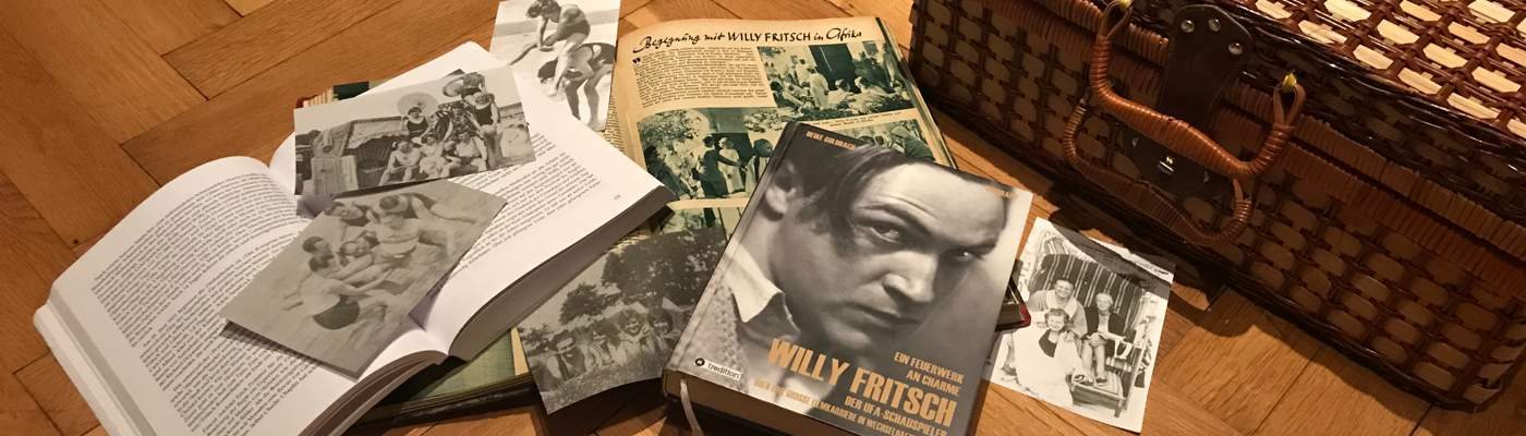 Der Schauspieler Willy Fritsch: Audio und Video