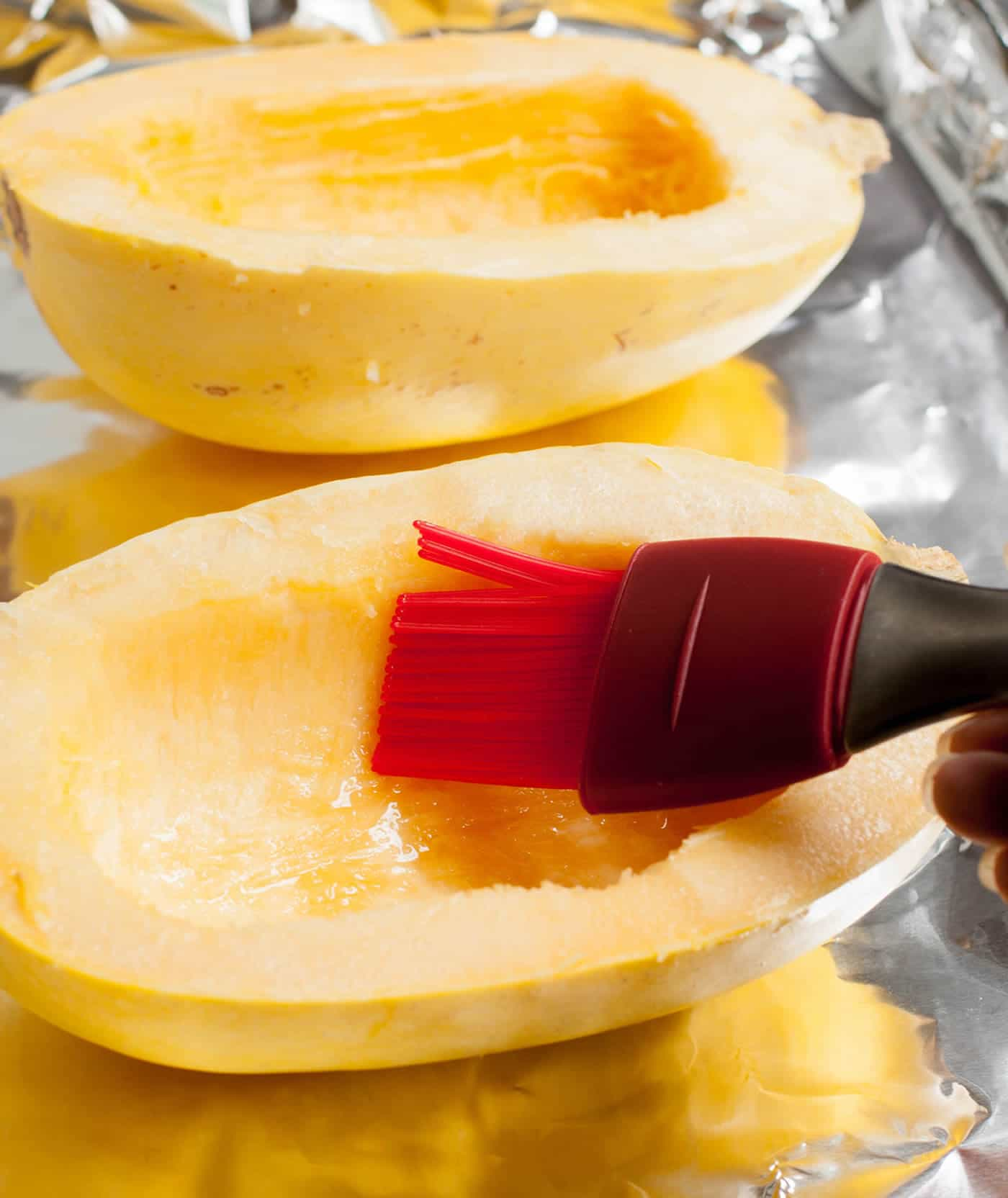 How to Cook Spaghetti Squash. This is an easy way to cook tender spaghetti squash. Try my secret tip that you do right after it comes out of the oven.