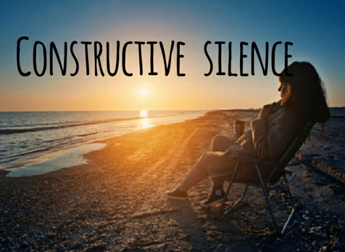 How To Use Constructive Silence To Get Along With Others