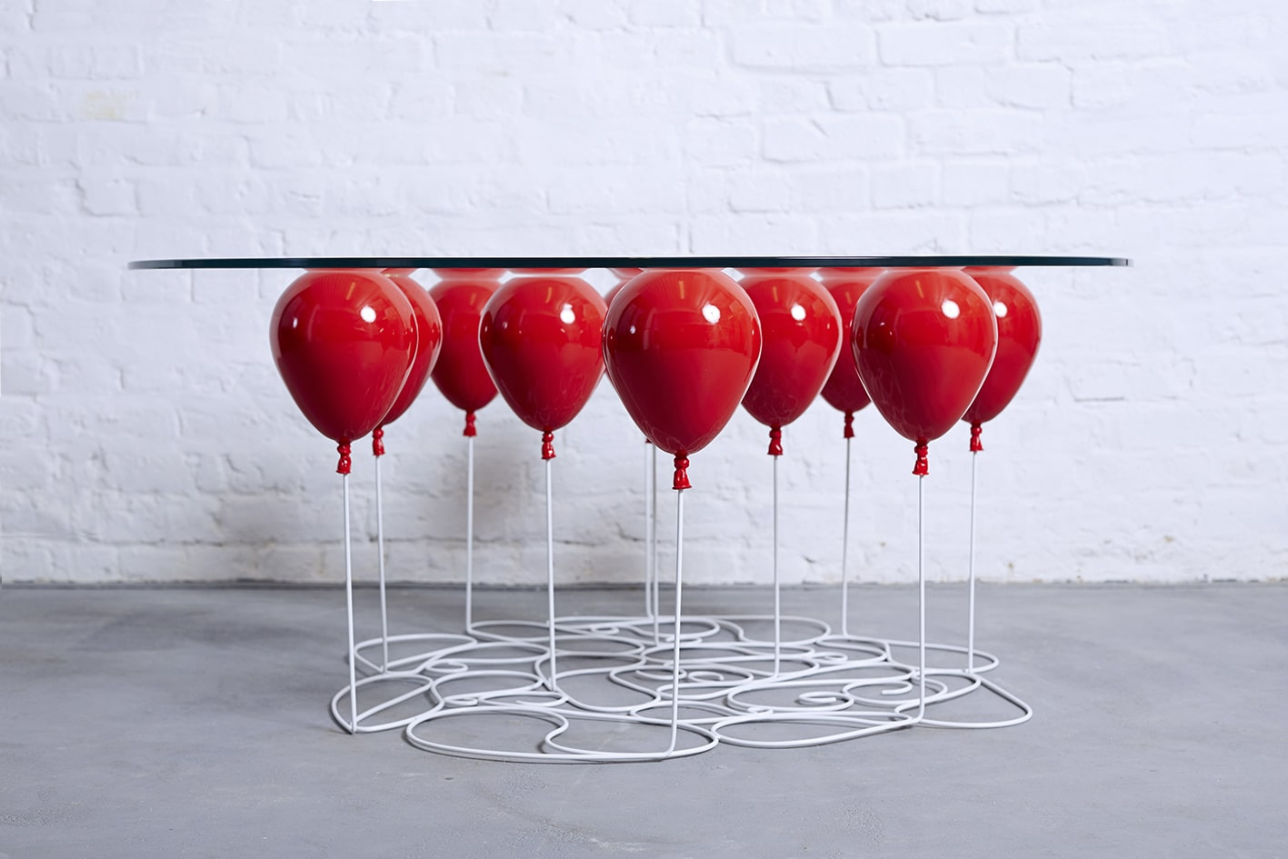 Red UP Balloon Coffee Table