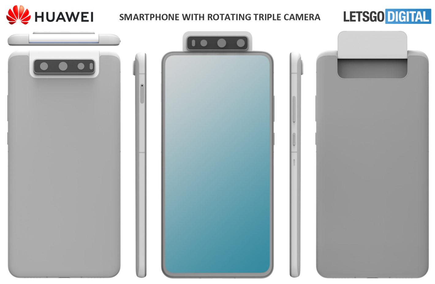 Huawei triple camera