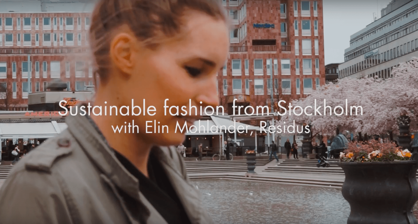Invest Stockholm Sustainable Fashion with Elin Mohlander