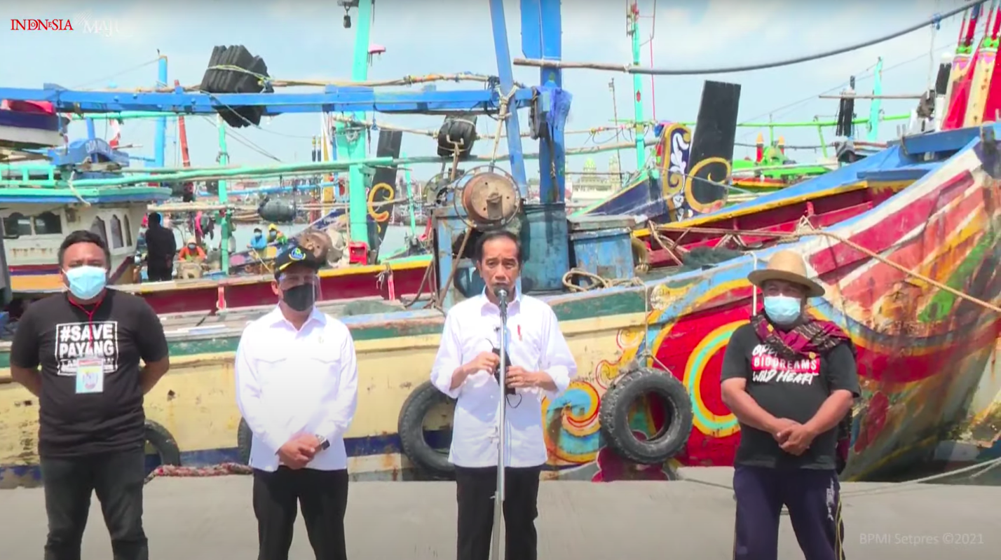Jokowi PDDI Brondong Lamongan