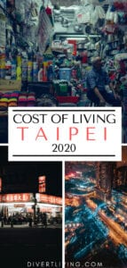 Cost Of Living In Taipei?