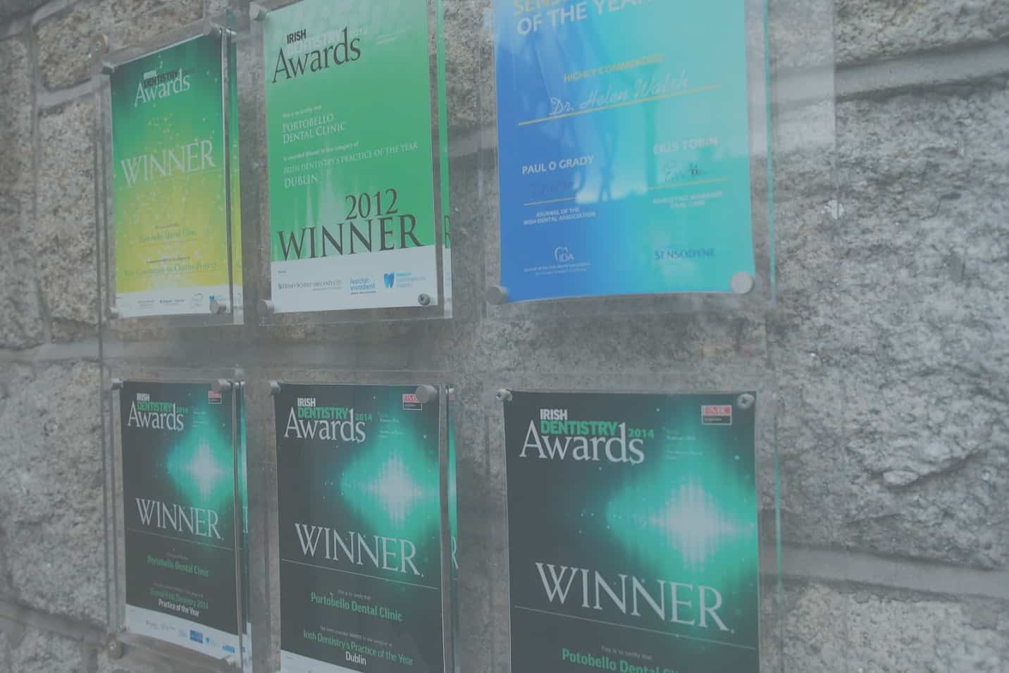 Awards won by Portobello Dental Clinic