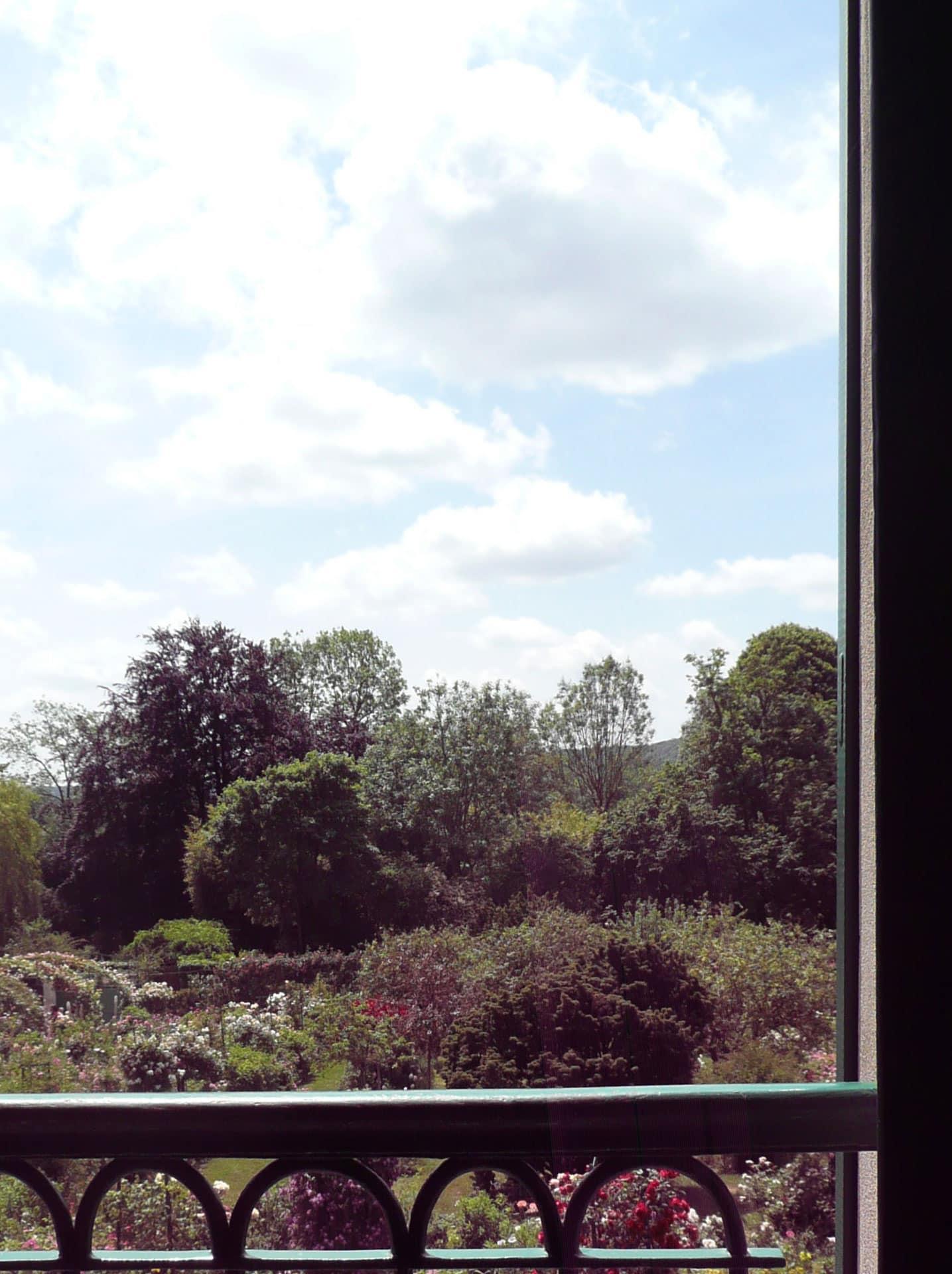 Monet's bedroom window