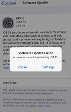 How To Fix iPhone 7 Plus Software Update Failed