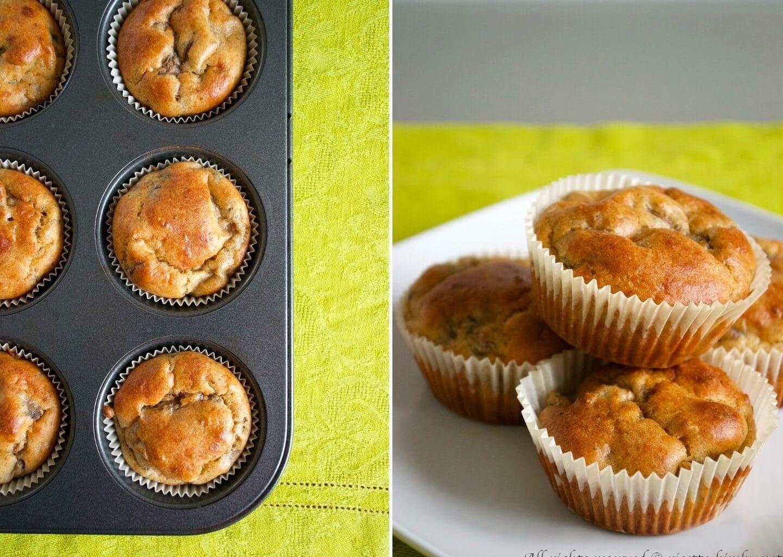 Muffin ai funghi Bimby