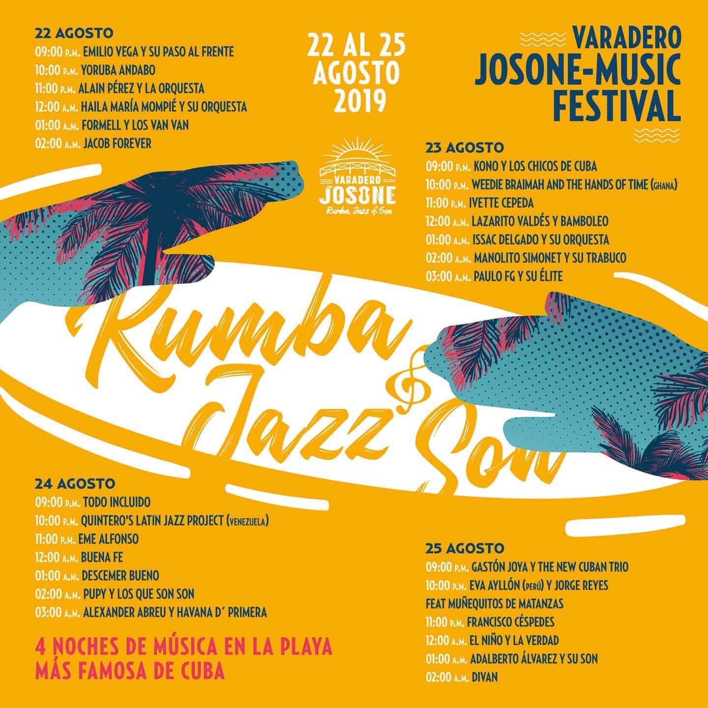 Varadero Jazz Son Rumba Festival im Josone Park