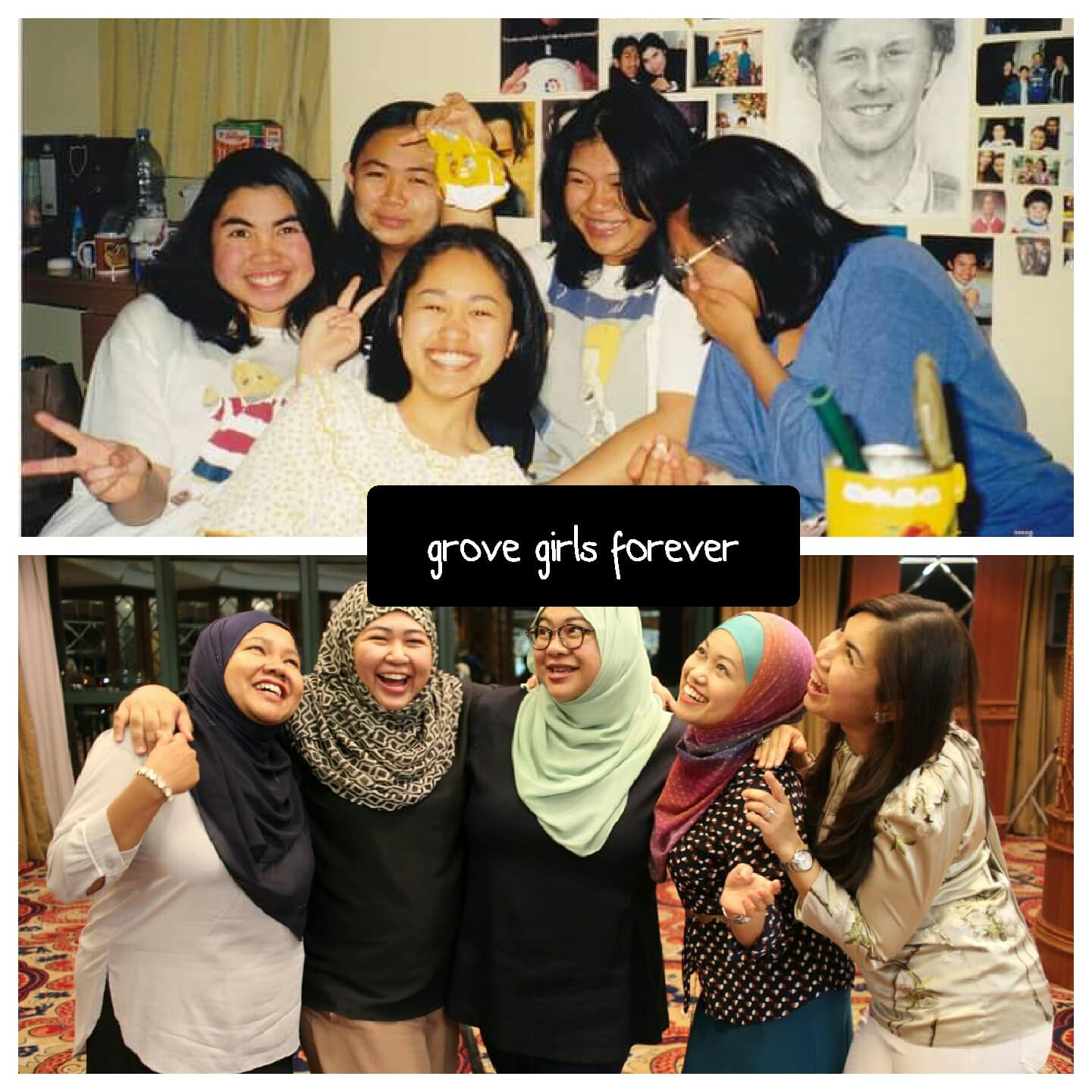 5 girls meeting few years later