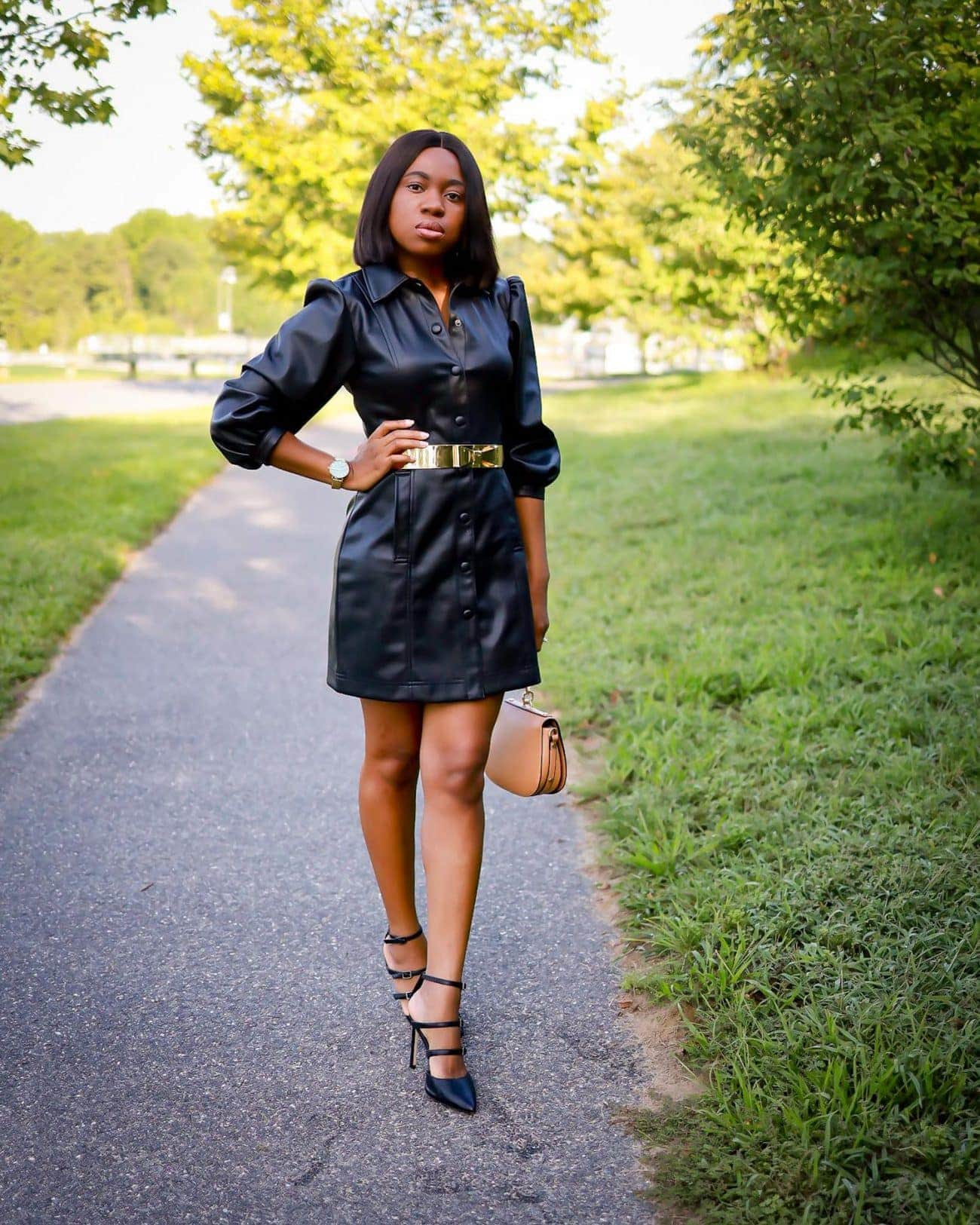 Rounding up my blogger picks from the 2020 Nordstrom Anniversary Sale including this Topshop leather dress.