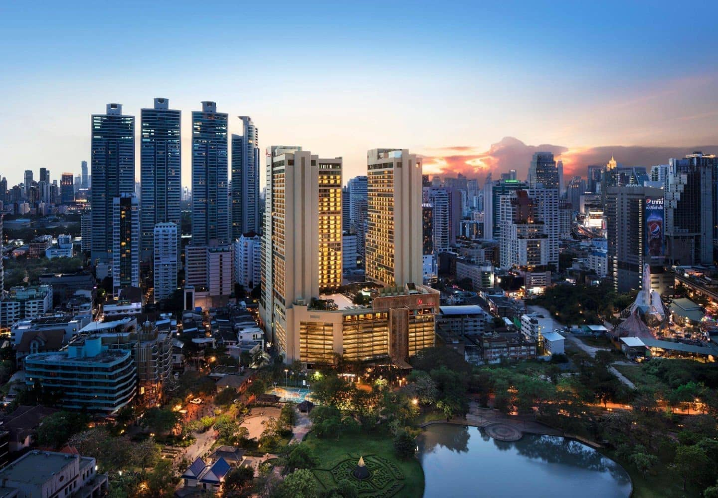 Two New Dramatic Destination Hotels Bangkok