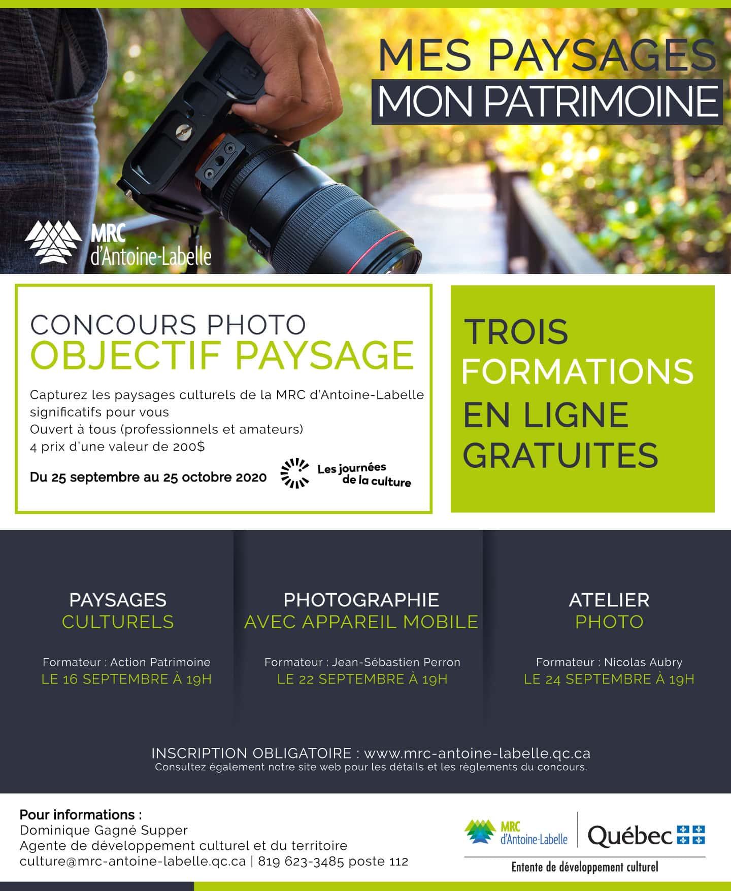 Journées de la Culture de la MRC Antoine Labelle