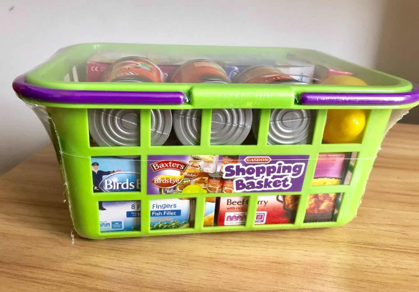 Casdon Chip n Pin Till and Shopping Basket Review