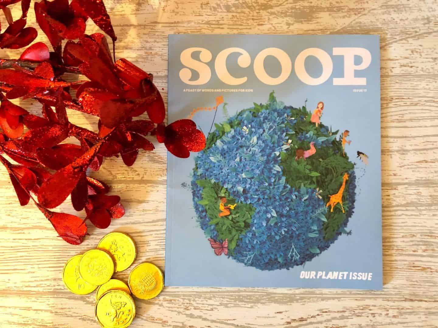 Scoop, the literary magazine for kids: a meaningful present that keeps giving all year.
