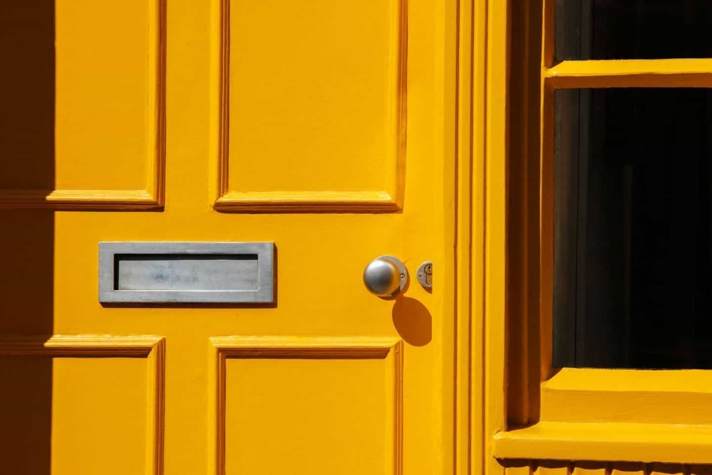Protect your home - Paint your front door - Home DIY on a budget to get your house to make the biggest impact