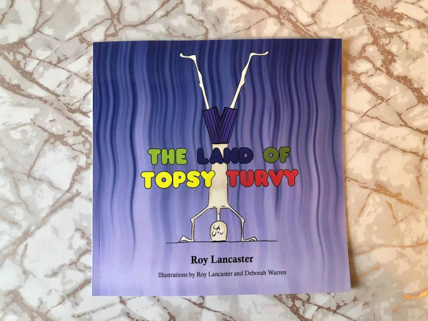 Book Cover - The Land of Topsy Turvy