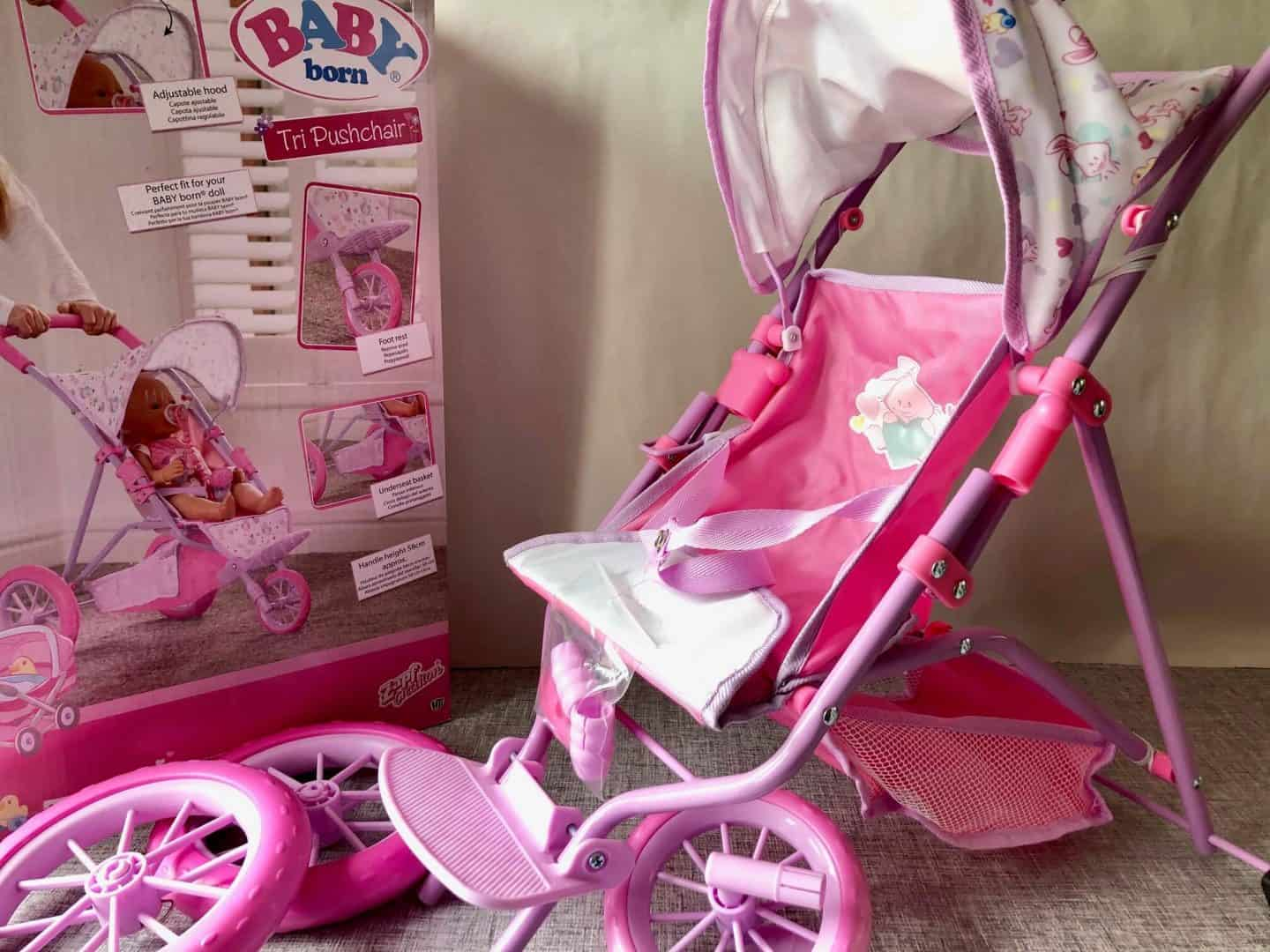 Baby Born Tri Pushchair Review and how to put together